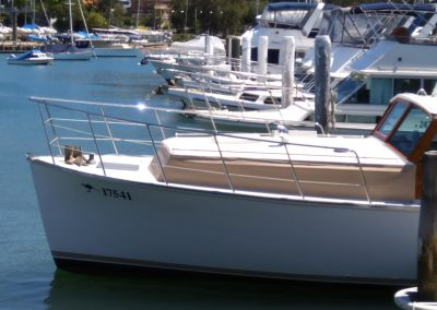 stainless boat